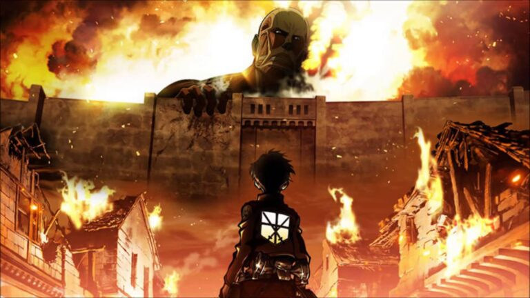 انیمه Attack on Titan